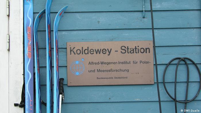 Meeresforschung Ny Alesund Spitzbergen (Foto: DW)
