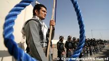 Iran Kurden Protestieren gegen die Hinrichtung von Rebellen