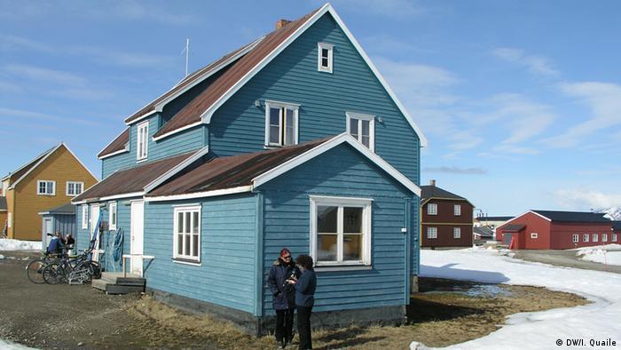 Ny Alesund Spitzbergen Koldewey Station (Foto: DW)
