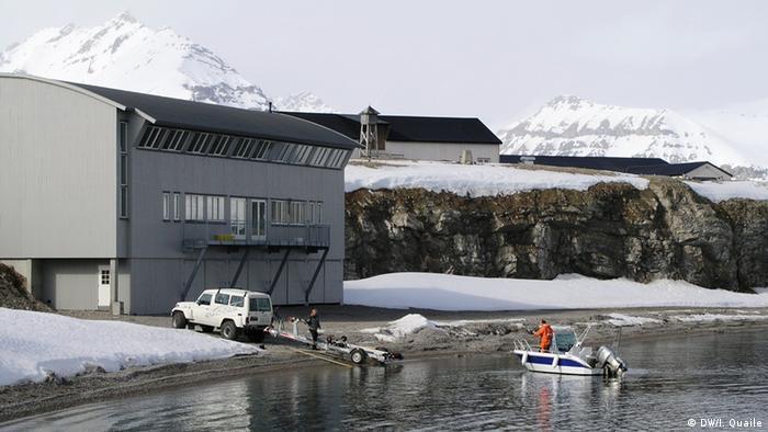 Ny Alesund Spitzbergen
