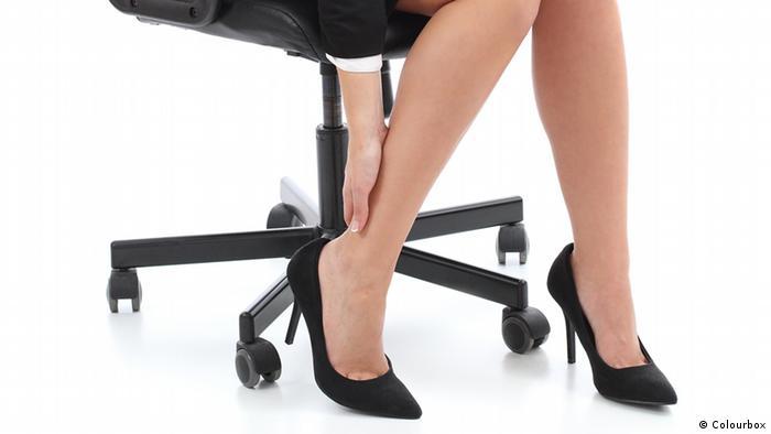 geschwollene, schmerzende Beine (Colourbox)