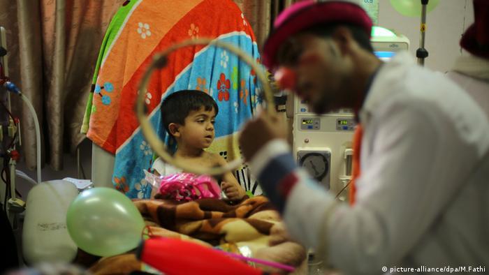 Palästina World Vision Gaza Kinderkrankenhaus