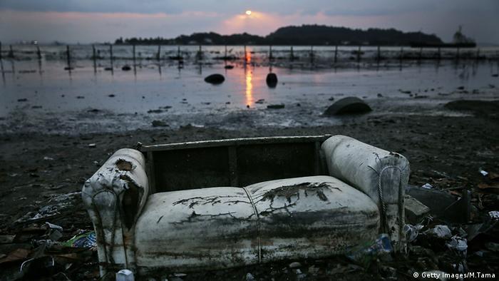 Brasilien BdW Guanabara Bay Wasserverschmutzung Umweltverschmutzung KW31