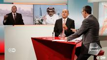Yosri Fuda moderiert die erste Folge seiner neuen Sendung Misch Dich ein auf DW Arabia