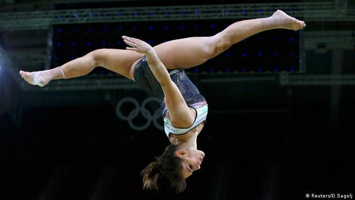 Rio_Momente_0408 Martina Rizzelli Gymnastic (Reuters/D.Sagolj)