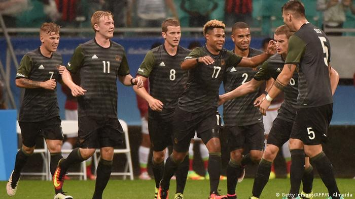 Olympics Arsenal S Serge Gnabry Rescues Point For Germany Against