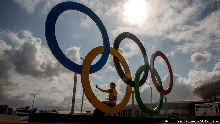 Olympische Ringen (picture-alliance/dpa/M. Kappeler)