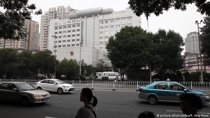 Volksgericht in Tianjin (Foto: dpa)