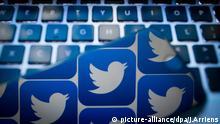 Twitter Logo Tastatur Bot Social Media