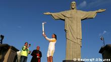 Rio 2016 Olympische Flamme Isabel Barroso