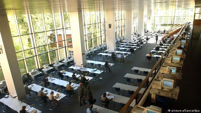 Bayerische Staatsbibliothek  Copyright: picture-alliance/dpa