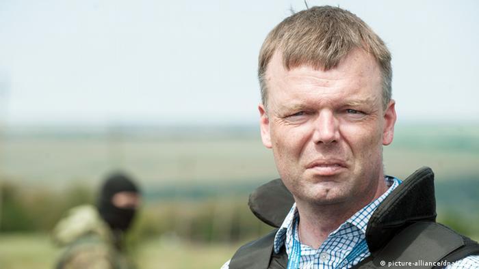 Александер Гуґ (на фото) застерігає, що над тривалим перемир'ям на Донбасі потрібно працювати