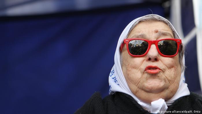 Hebe de Bonafini, presidenta de la asociación Madres de Plaza de Mayo.