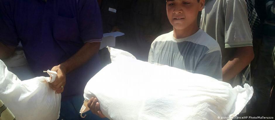 Vítimas da crise síria serão principais receptores da ajuda europeia