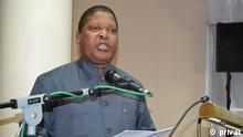 Mosambik - Präsident des Jugendparlaments Salomao Muchanga
