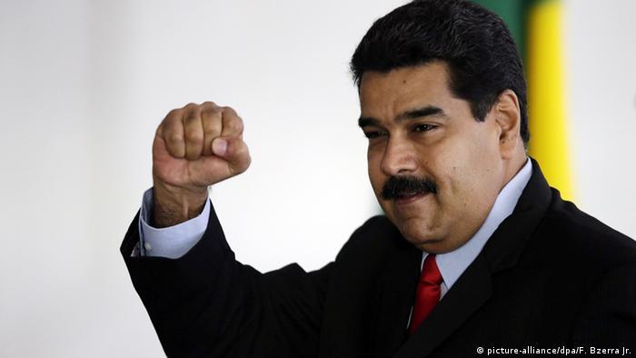 Brasilien Brasilia Nicolas Maduro Präsident von Venezuela