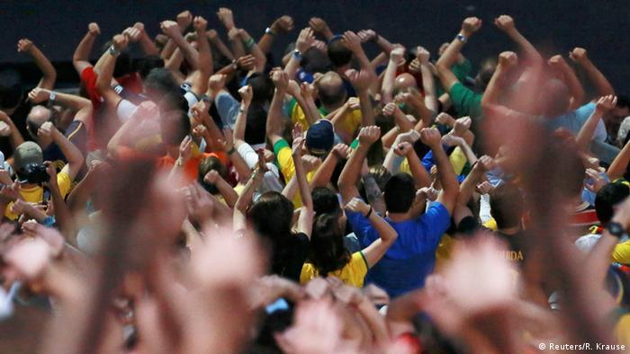 Olympia Rio 2016 Eröffnungsfeier