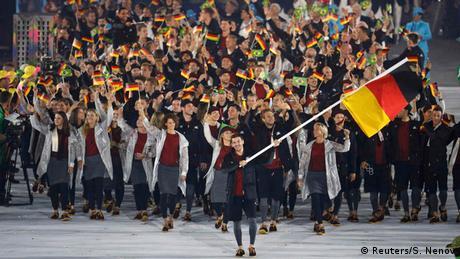 Olympia Rio 2016 Eröffnungsfeier Team Deutschland Rio Momente 05 08