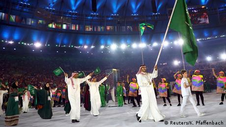 Olympia Rio 2016 Eröffnungsfeier Team Saudi Arabien