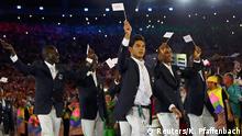 Olympia Rio 2016 Eröffnungsfeier Team der Flüchtlinge