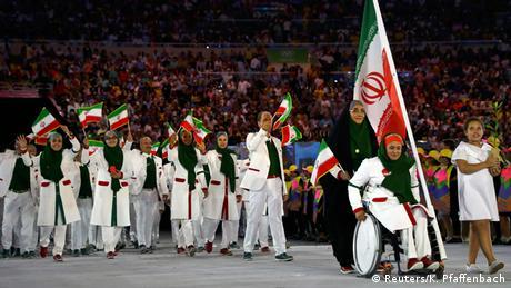 Olympia Rio 2016 Eröffnungsfeier Team Iran