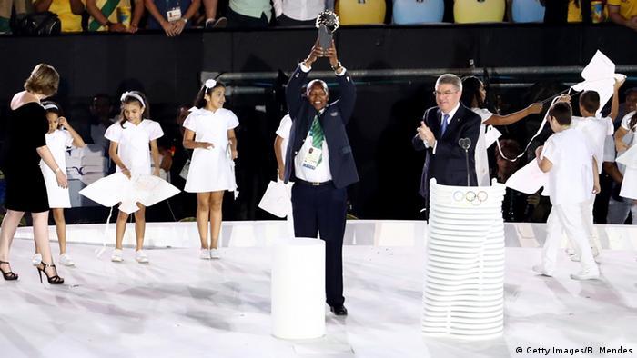 Olympia Rio 2016 Eröffnungsfeier Kip Keino