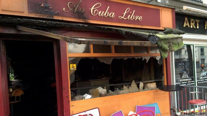 13 muertos en Francia por incendio en un bar