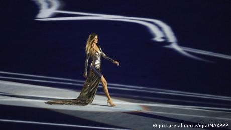 Olympia Rio 2016 Eröffnungsfeier Gisele Bundchen
