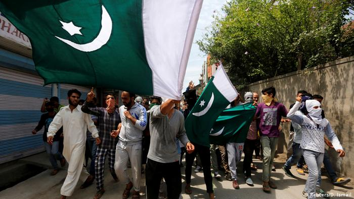 Pakistan Proteste in Srinagar