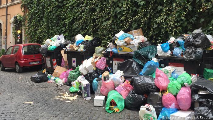 Die stinkende Stadt - Müllchaos in Rom