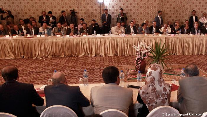 Jemen - Friedensgespräche in Kuwait (Getty Images/AFP/M. Huwais)