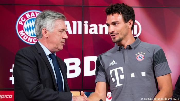 Mats Hummels Vorstellung bei Bayern München