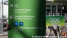 Dopingkontrolle Rio 2016
