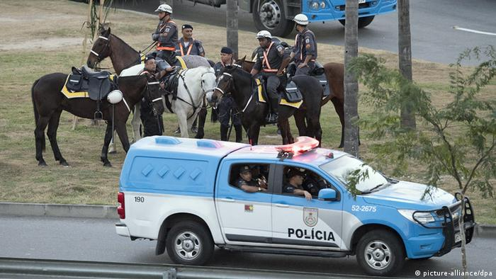 Olympiade Rio Polizei
