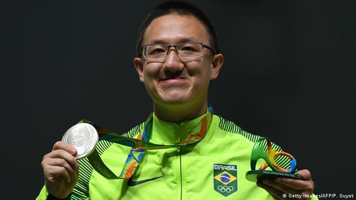 Olympiade Rio Luftpistole