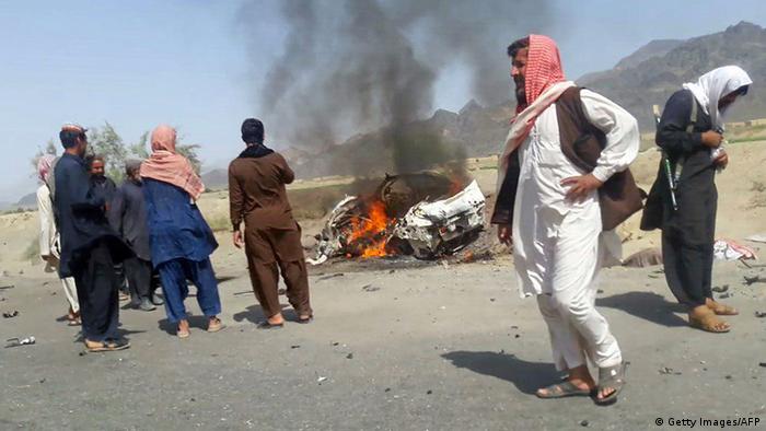 Pakistan nach einem Drohnenangriff. (Foto: Getty Images/AFP)