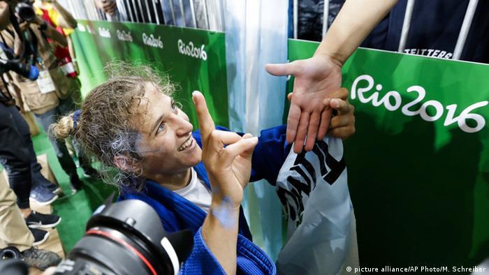 Rio 2016 Judo Argentinien Paula Pareto Goldmedaille
