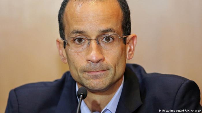 Brasilien Marcelo Odebrecht Parlament Anhörung (Getty Images/AFP/H. Andrey)