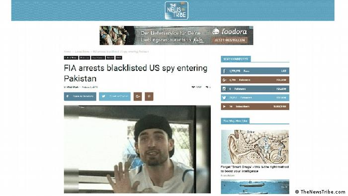 Screenshot The News Tribe Matthew Craig Barrett