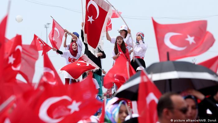 Türkei Istanbul Demonstranten