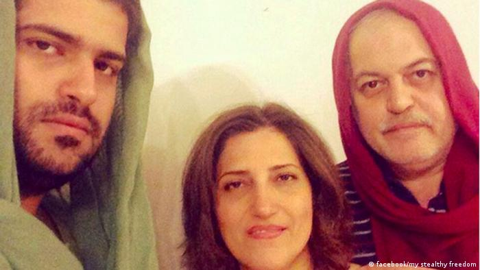 Iran - #MenInHijab (facebook/my stealthy freedom)