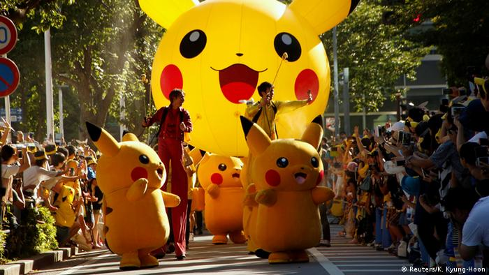 Japan - Pokemon Parade in Yokohama
