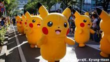 Berburu Pokemon di Festival Pikachu