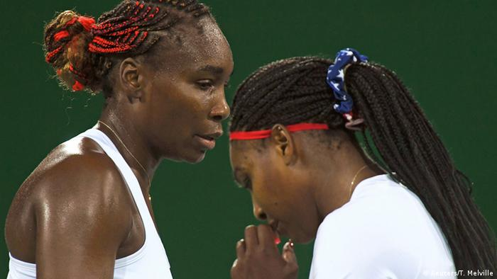 Rio 2016 Tennis Serena und Venus Williams USA (Reuters/T. Melville)