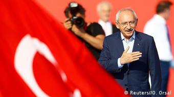 Türkei - Kundgebung in Istanbul gegen den Umsturzversuch Kemal Kilicdaroglu CHP