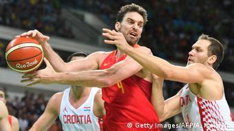 Rio 2016 Basketball Spanien gegen Kroatien