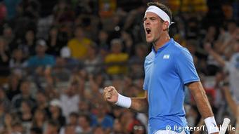 Rio 2016 Tennis Juan Martin Del Potro Argentinien