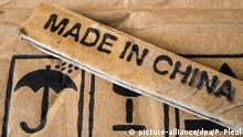 Deutschland Label Made in China (picture-alliance/dpa/P. Pleul)
