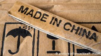 Deutschland Label Made in China
