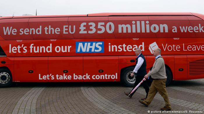 The Vote Leave campaign bus